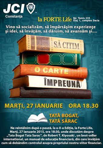 """""""Să citim o carte împreună"""" by JCI Constanta la Forte Life"""