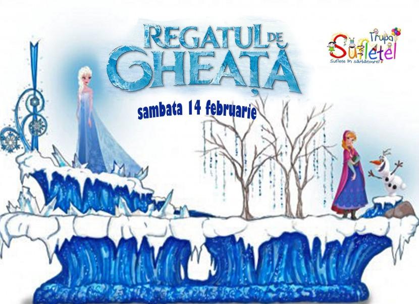 Teatru de papusi: REGATUL DE GHEATA la Harlequin