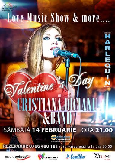 """""""Love Music Show & more"""" la Harlequin de Valentine's Day"""