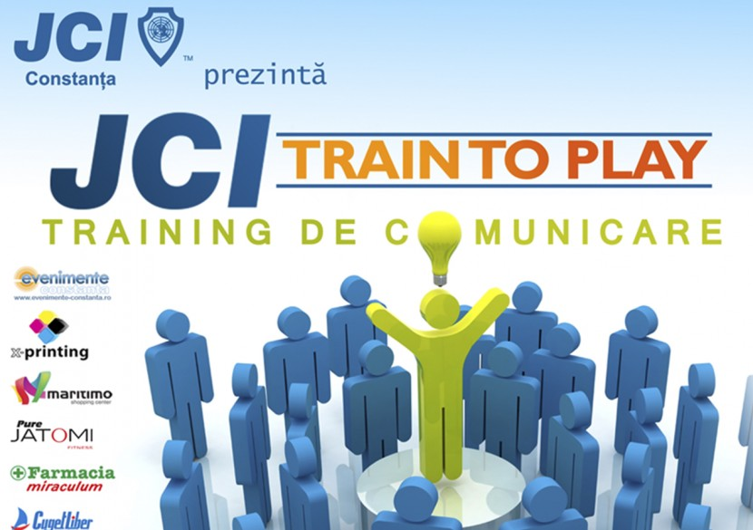 JCI TRAIN TO PLAY. Dezvoltare personala si profesionala