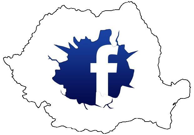 Cum sta Facebook in Romania