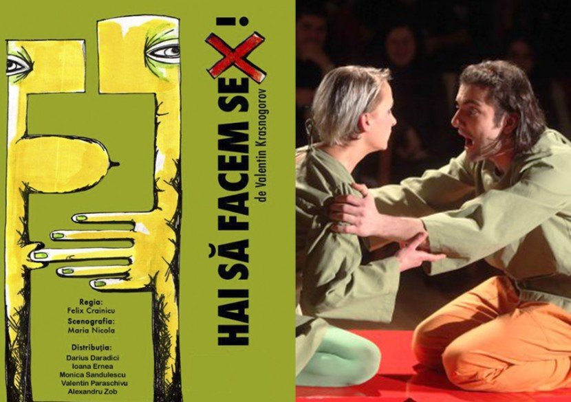 "PREMIERA la Constanta. Teatru: ""HAI SA FACEM SEX"""