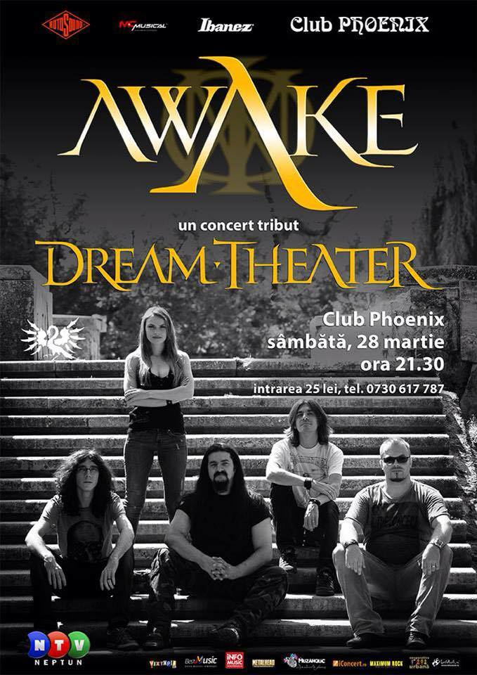 concert AWAKE dream theater Constanta