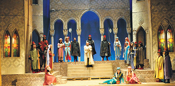 "Opera ""RAPIREA DIN SERAI"", pe scena TNOB ""Oleg Danovski"""