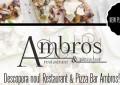 Restaurant & Pizza Bar Ambros, se deschide in Constanta. O pizza din partea casei!