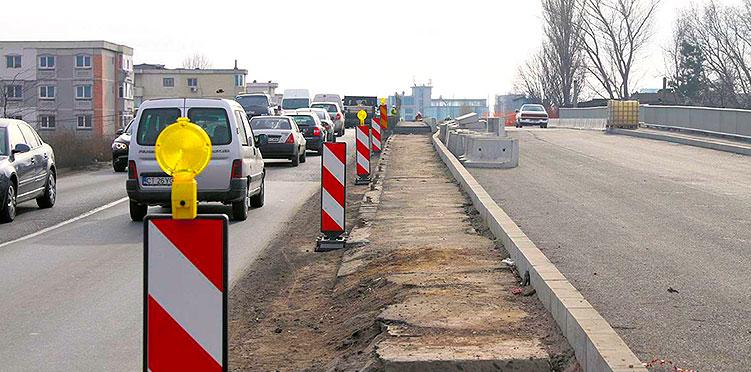 Cand vor fi gata lucrarile de la podul I.P.M.C.