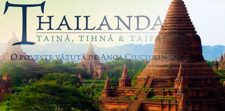 """Lansare de carte: """"THAILANDA: TAINA, TIHNA & TAIFAS"""", la Carturesti"""