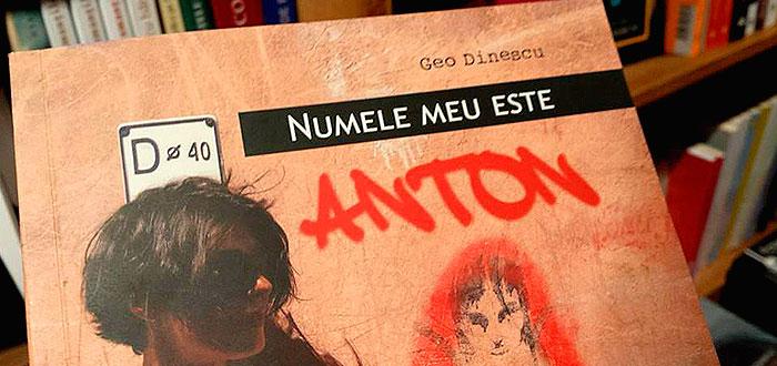 """Lansare de carte """"NUMELE MEU ESTE ANTON"""", la Carturesti"""