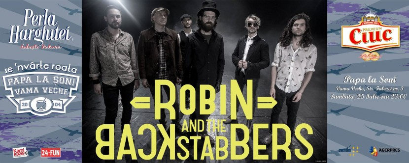 Concert ROBBIN AND THE BACKSTABBERS in Vama Veche