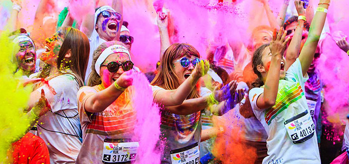 The COLOR RUN revine si in acest an la Mamaia!