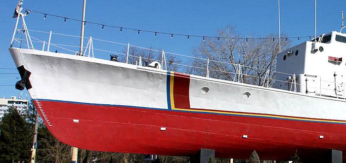 """Cum va arata primul vapor din Constanta vopsit in concursul """"Culorile Romaniei"""""""