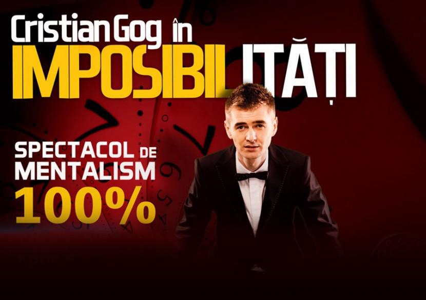 "CRISTIAN GOG creeaza ""Imposibilitati"" pe scena Casei de Cultura"