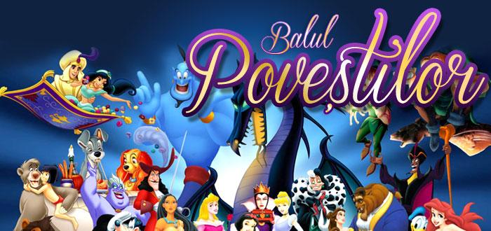 Vino la BALUL POVESTILOR! Spectacol pentru copii la Ibis