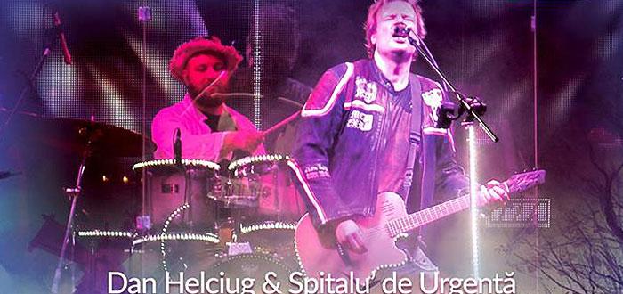 Concert DAN HELCIUG si SPITALUL DE URGENTA, la Doors