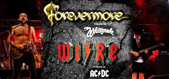 Concert tribut AC/DC si Whitesnake cu Forevermore si Wire, la Phoenix