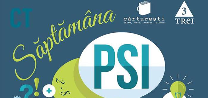 """""""SAPTAMANA PSI"""", la Carturesti! Limbajul emotiilor, fericire, relatii, educatie"""