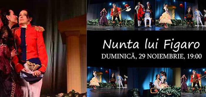 """Comedia """"NUNTA LUI FIGARO"""", la Teatrul de Stat"""