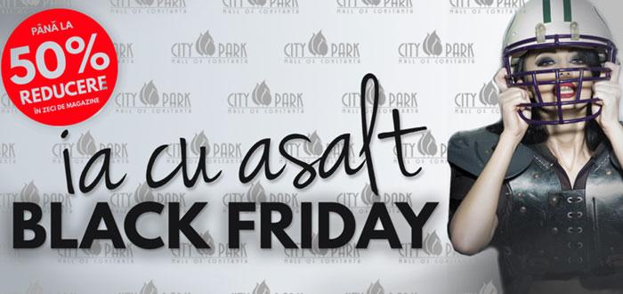 La City Park Mall Constanta, Black Friday vine cu o saptamana de reduceri!