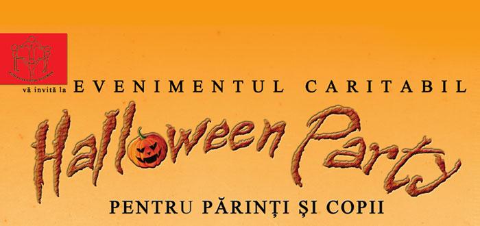 Halloween Party CARITABIL! Banii si obiectele donate ajung la copiii sarmani