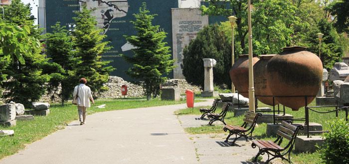 Parcul Arheologic, reabilitat in stil Art Nouveau de patru firme constantene