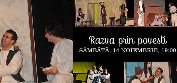 """""""RAZNA PRIN POVESTI"""", la Teatrul de Stat Constanta!"""
