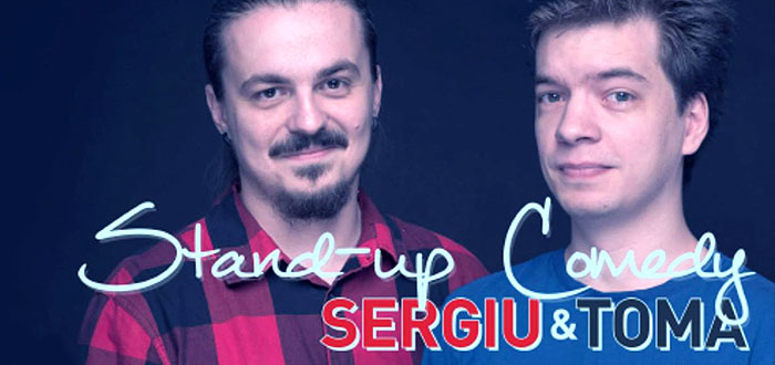 Stand-up cu SERGIU si TOMA, la club Phoenix