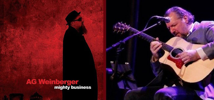 "Concert de lansare album AG WEINBERGER, ""Mighty Business""! La Doors Club"
