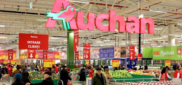 Autoservirea Auchan, inchisa! Alte 320 de kilograme de carne confiscate si 18 persoane in spital
