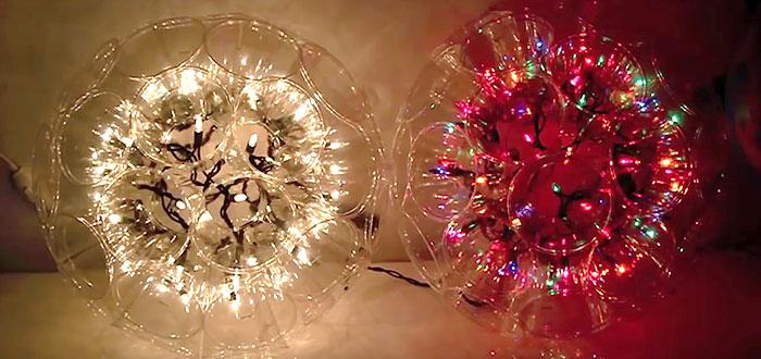 Cum sa faci o decoratiune superba de Craciun, CU PAHARE din plastic! VIDEO