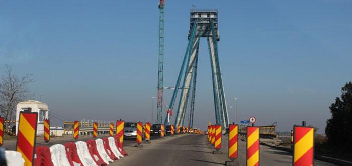 Podul vechi de la Agigea, ÎNCHIS complet pentru reparaţii. Ce rute alternative există