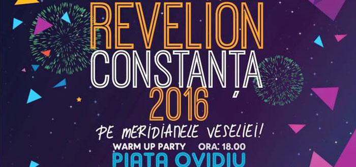Programul complet al REVELIONULUI 2016 din Piata Ovidiu Constanta