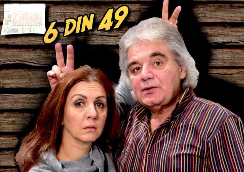 """""""6 DIN 49"""", o super-comedie pe scena Harlequin"""