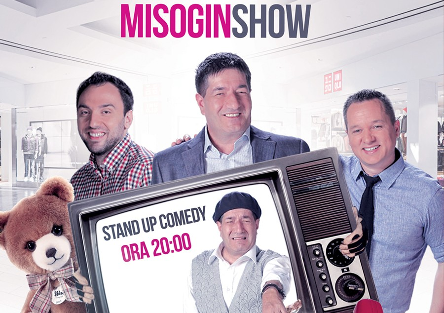Stand-up comedy cu CNP: Misogin Show!