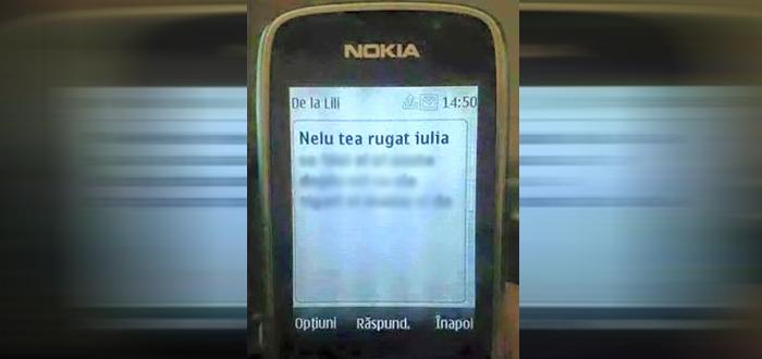 Cel mai viral SMS al inceputului de an. Pentru ca Nelu e baiat de treaba!