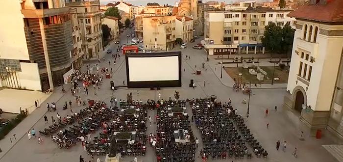 Cinemateca, cel mai mare cinematograf in aer liber din Romania, la Constanta!