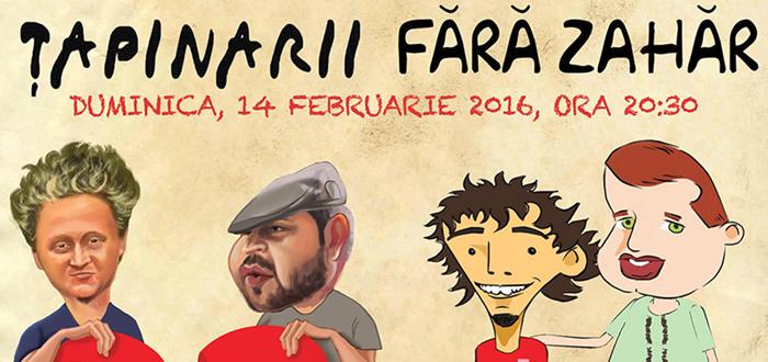 Anti-Valentine's Day cu Tapinarii si Fara Zahar la Doors Club