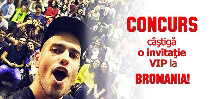 CONCURS. Castiga una din cele patru INVITATII VIP la show-ul BRomania!