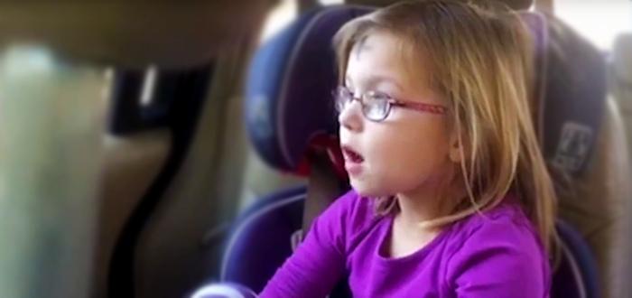O fetita vorbeste serios despre dragoste si despartirea de iubitul ei! VIDEO