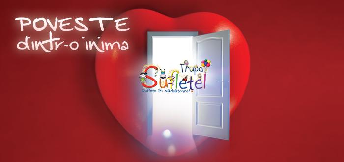 """""""POVESTE DINTR-O INIMA"""", spectacol INTERACTIV pentru copii, la Forte Life"""