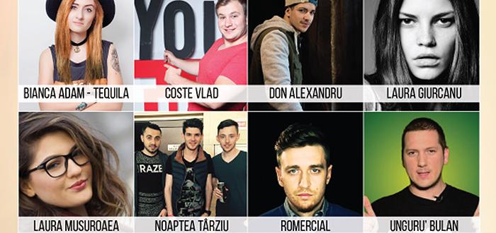 De pe Youtube la Constanta. Cei mai tari VLOGGERI din Romania vin la Maritimo!