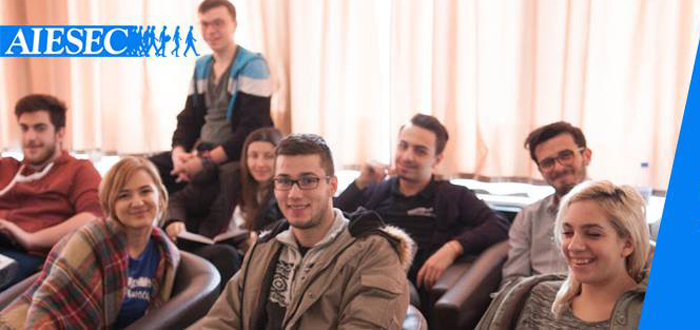 AIESEC Constanta recruteaza! Vino sa faci parte din cea mai mare organizatie de studenti