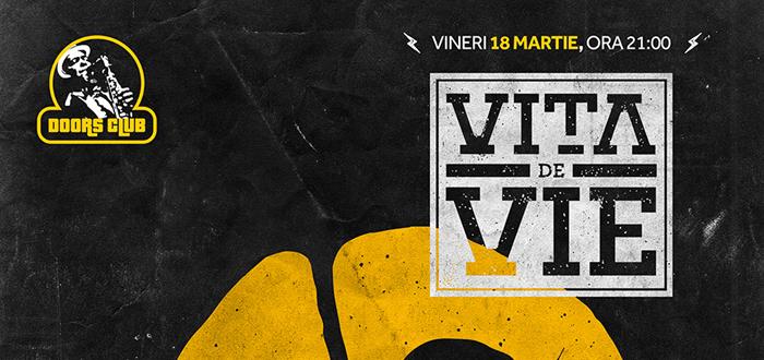 Concert aniversar XX de ani VITA DE VIE  pe scena clubului Doors
