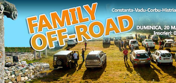 FAMILIY OFF-ROAD! Vino la o experienta 4×4 cu intreaga familie