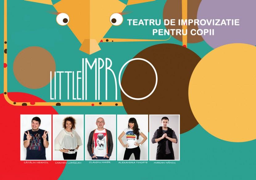"""""""LittleIMPRO""""! Teatru de improvizatie PENTRU COPII"""