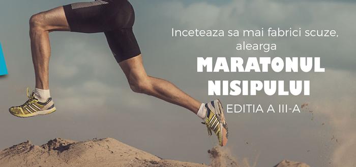 Peste 500 sute de sportivi romani si straini participa la Maratonul Nisipului in Mamaia