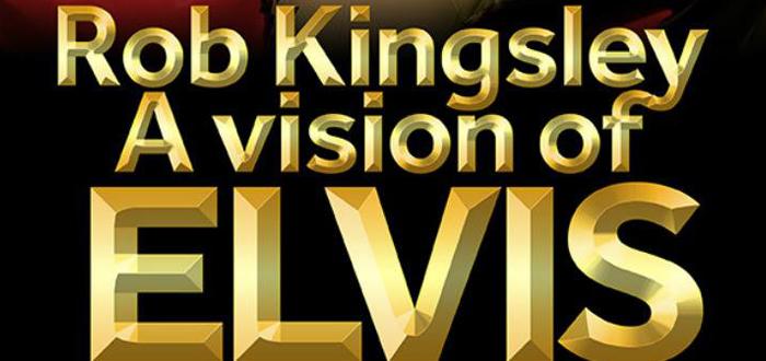 Rob Kingsley, cel mai bun imitator al lui ELVIS, urca pe scena Doors