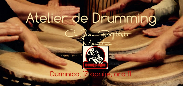 ATELIER DE DRUMMING! Workshop de percutie la club Doors