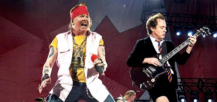 Oficial, AXL ROSE este noul vocal al trupei AC/DC!