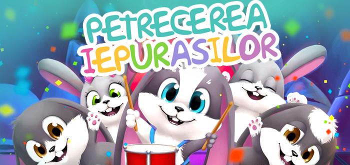 Spectacol interactiv pentru copii: PETRECEREA IEPURASILOR!