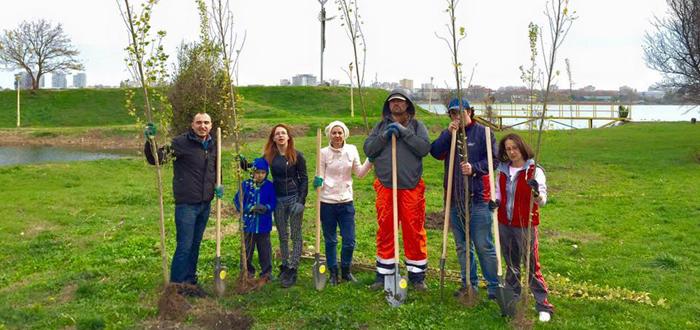 Vino alaturi de Greenpact sa plantezi 100 de copaci in Tabacarie!